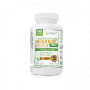 Kudzu Root Extract, Wish, 120 kapsułek
