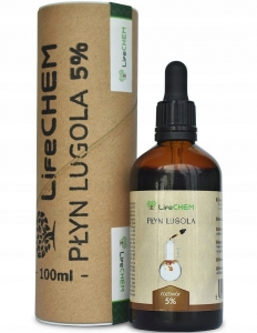 Płyn Lugola 5%, LifeCHEM, 100ml