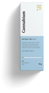 Ekstrakt CBD Basic 3% 300mg, Cannabium, 10g