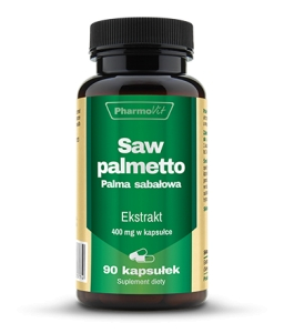 Saw Palmetto, Pharmovit, 90 kapsułek